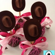 Cowgirl Themed Gourmet Apples